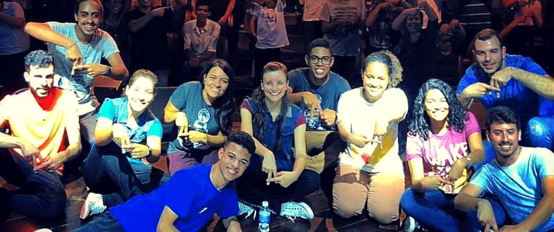Acordi com jovens em Belém do Pará