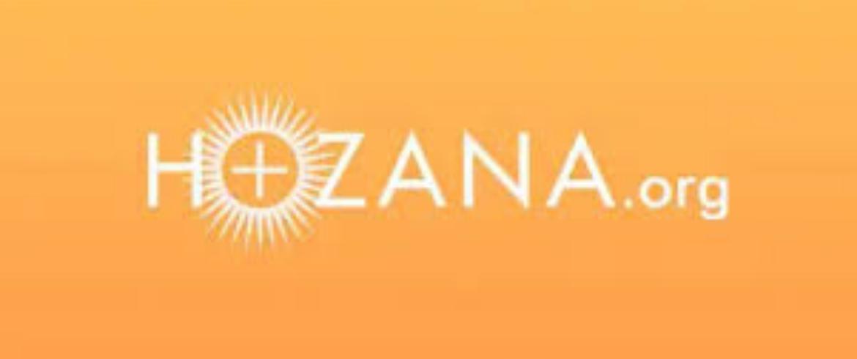 Estamos no Hozana, uma rede de oração com mais de um milhão de inscritos!